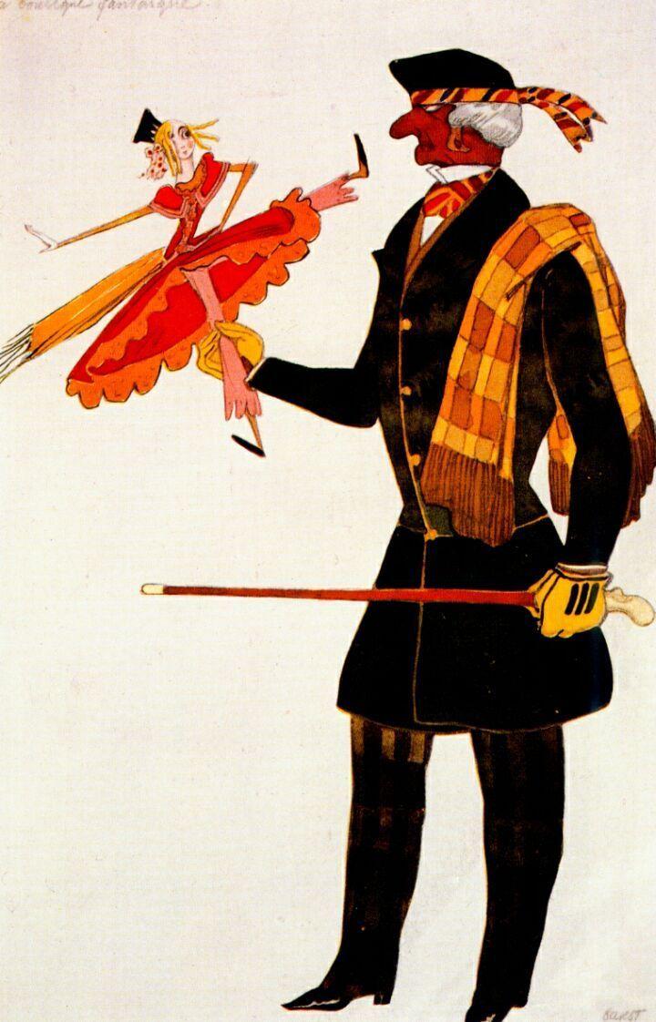 La Boutique fantastique - costumes de Leon Bakst