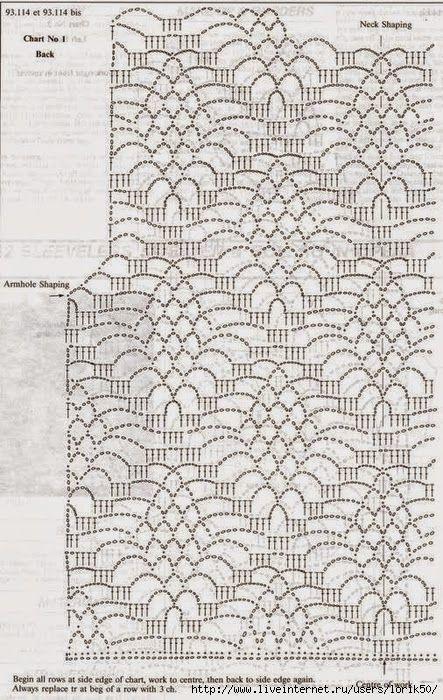 Pin von Regina Azevedo auf Crochet:blusas,túnicas e tops-2 ...