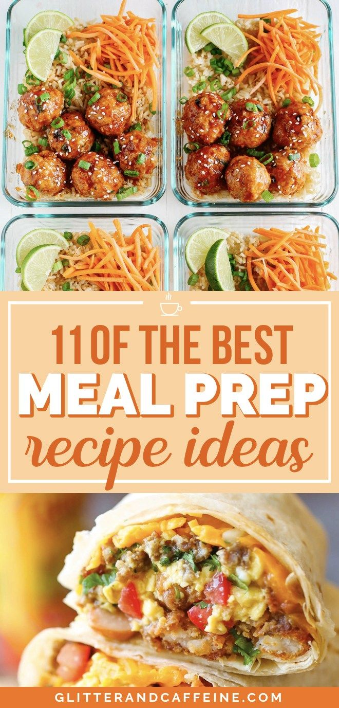 11 Of The Best Meal Prep Recipes images