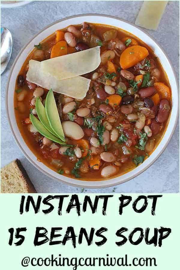 Instant Pot 15 Beans Soup