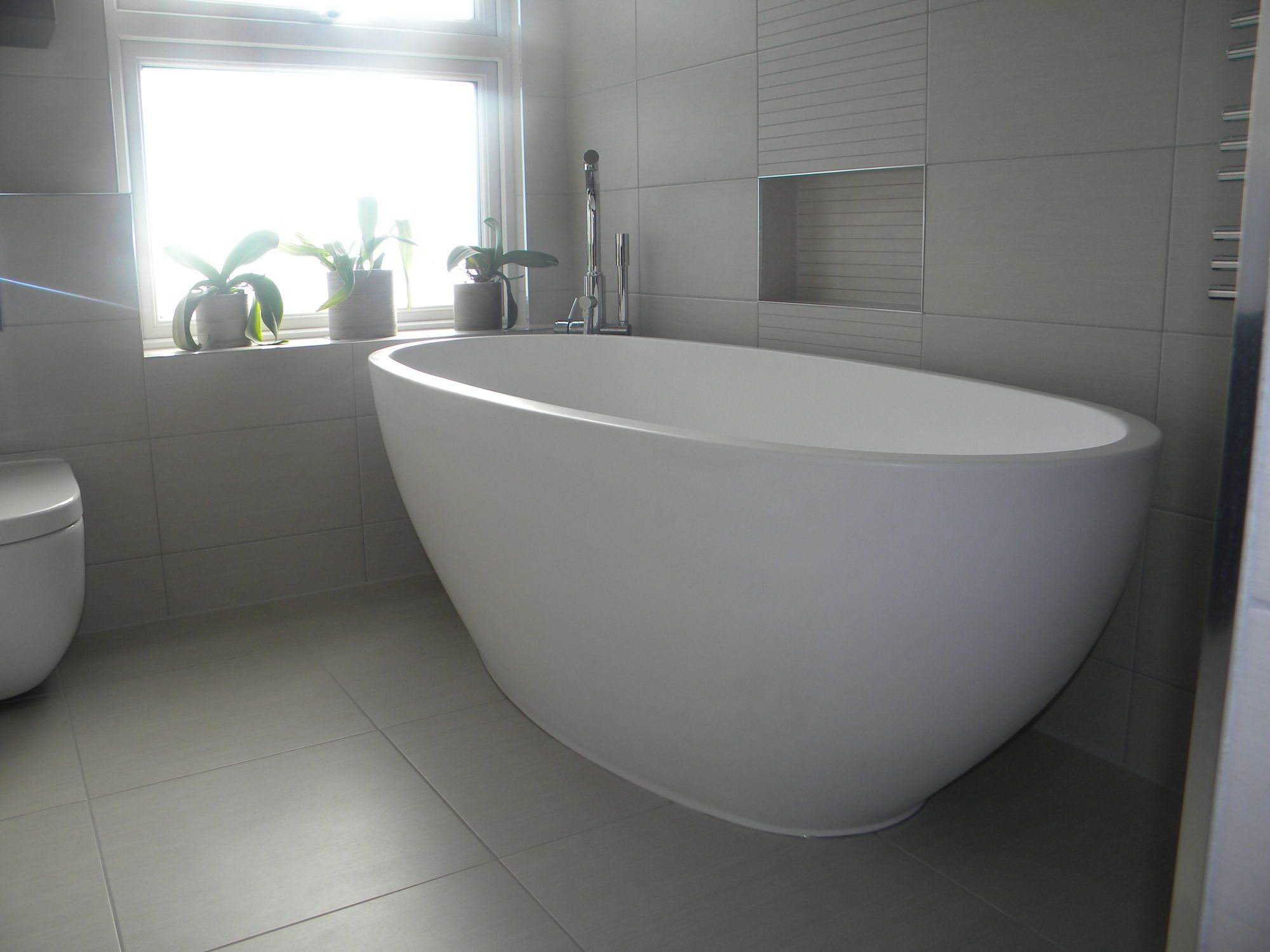 Free Standing Tubs Oval Stone Free Standing Soaking