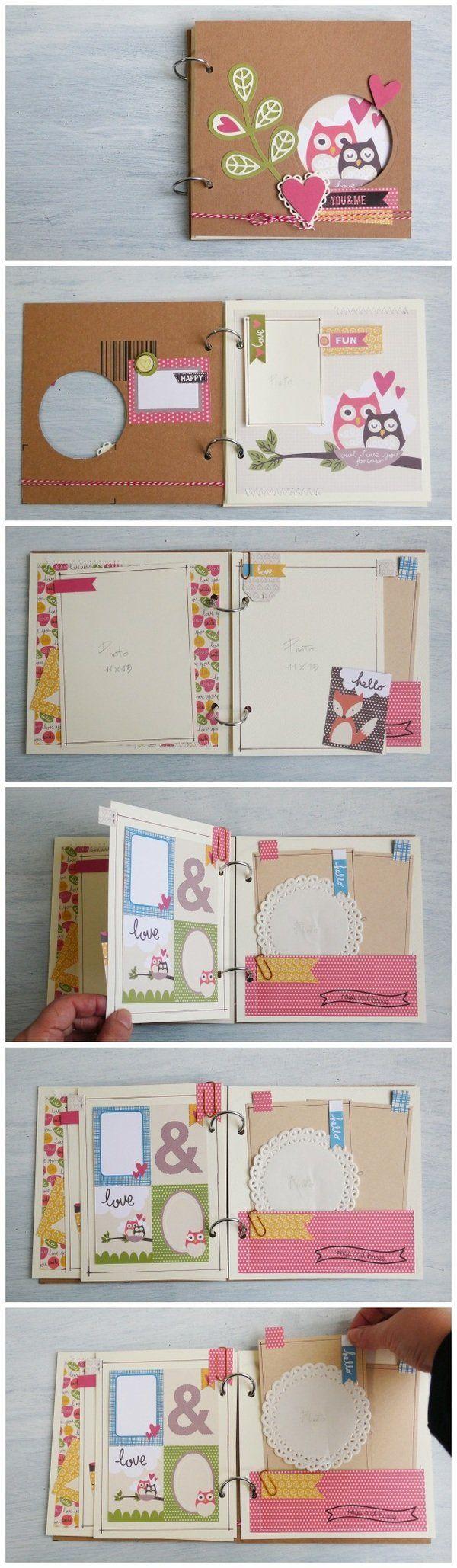 Scrapbook ideas china - Scrapbooking Mini Album Love Sizzix Big Shot Plus