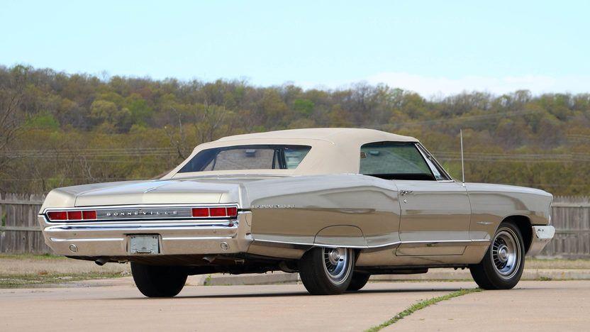 1965 Pontiac Bonneville Convertible 389 Ci 4 Speed Unrestored