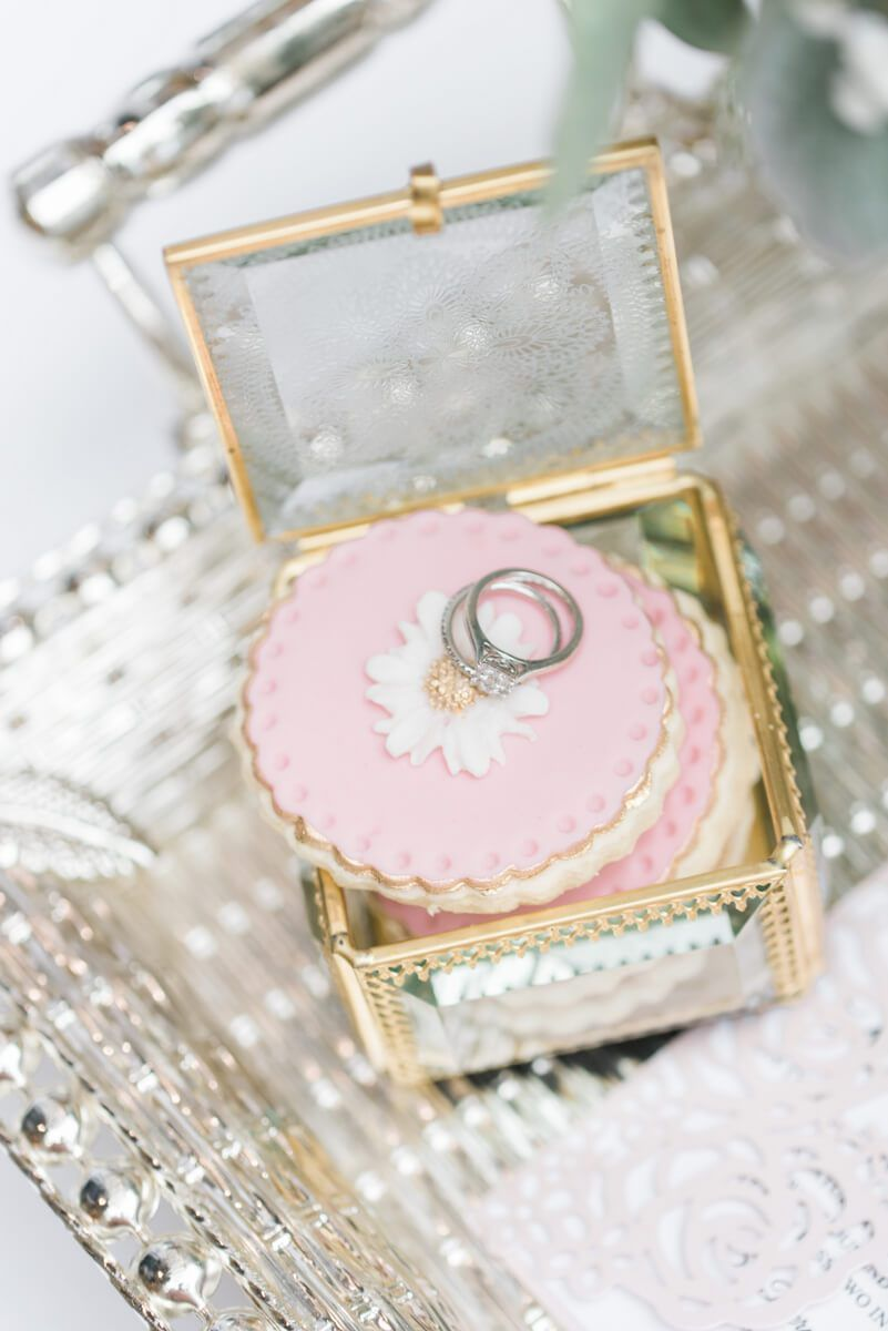 Blush Gold Vintage Wedding Ideas | Vintage ring box, Vintage ...