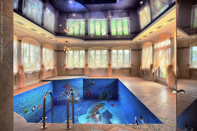 wackiest coolest swimming pool designs in the world indoor - Cool House Indoor Pools