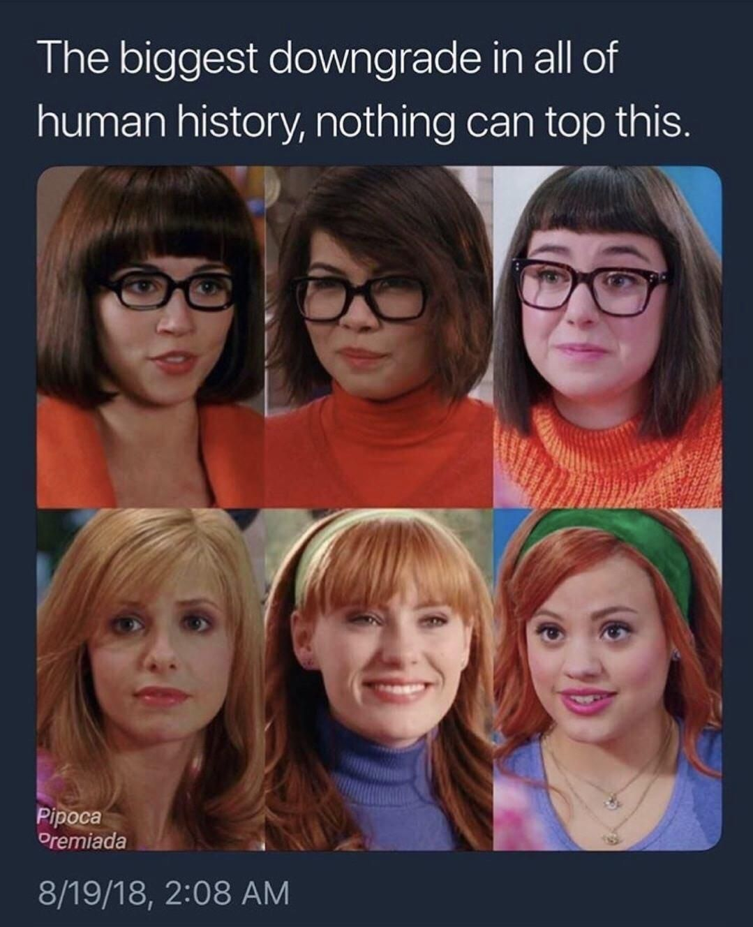 Scooby Doo Degradation Can We Make This Old Vid Go Viral Funny Photos Funny Relatable Memes Stupid Funny Memes