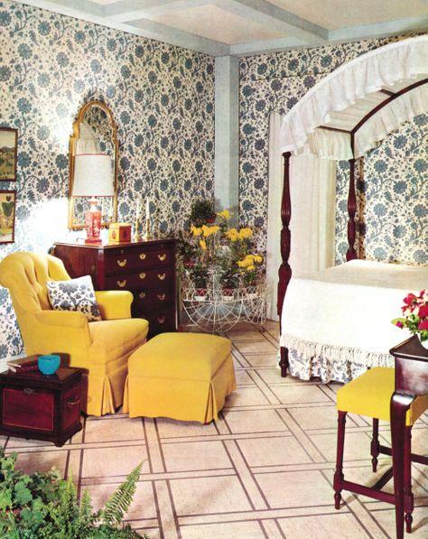1960s Bedroom Decor Bedroom Vintage Vintage Home Decor Retro Bedrooms