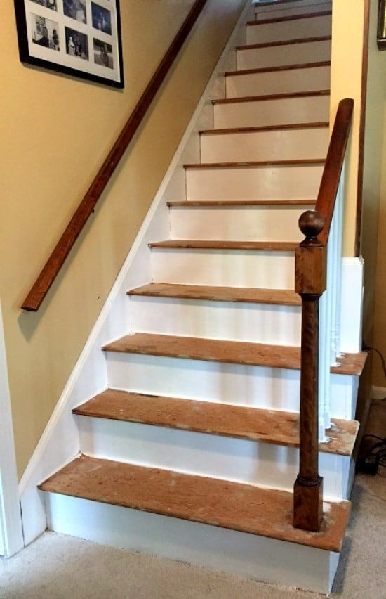 How To Remove Carpet From Stairs And Paint Them Home