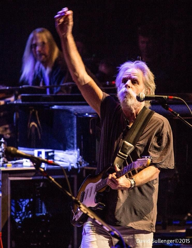 Bob Weir Ending a Song During a Dead & Company Show in 2015