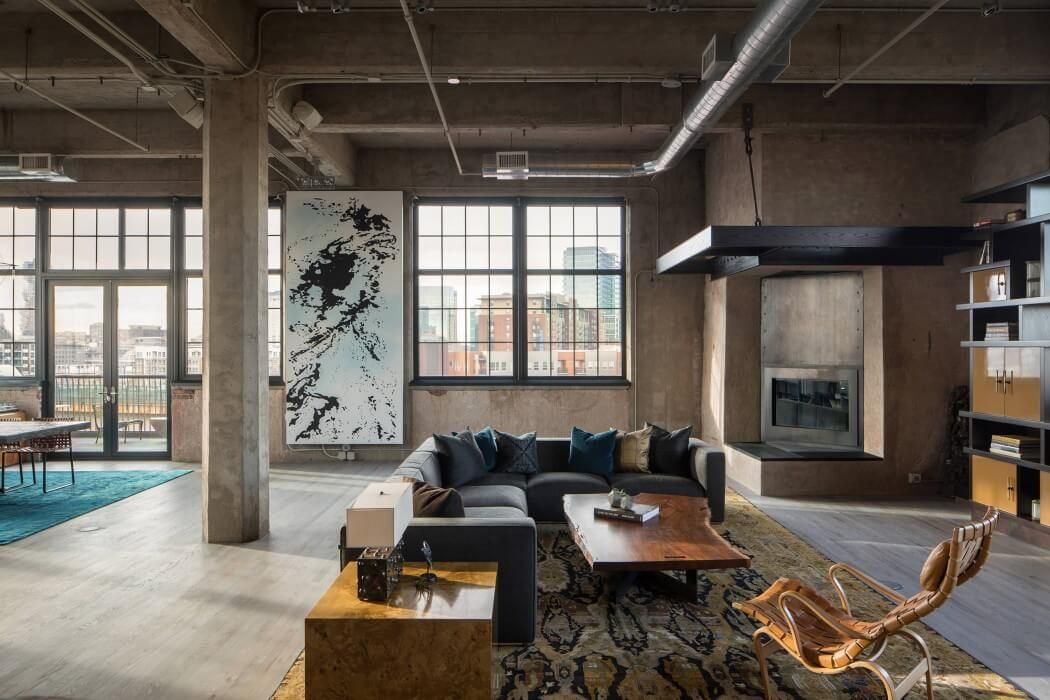 industrial loft by studio gild interior pinterest industrial