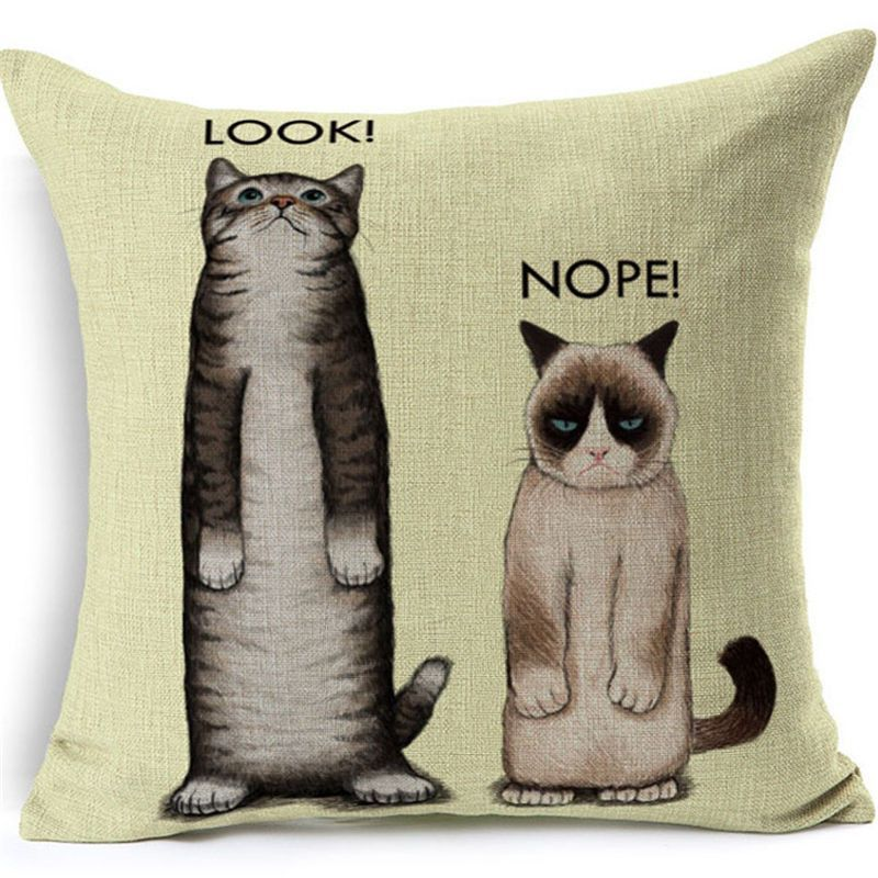 Decorative Pillows Pet Style 40 Different Types Cat Dog Extraordinary Types Of Decorative Pillows