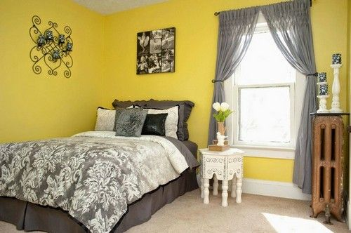 Yellow Paint Colors Ideas for Bedroom | Bedroom Designs | Pinterest ...
