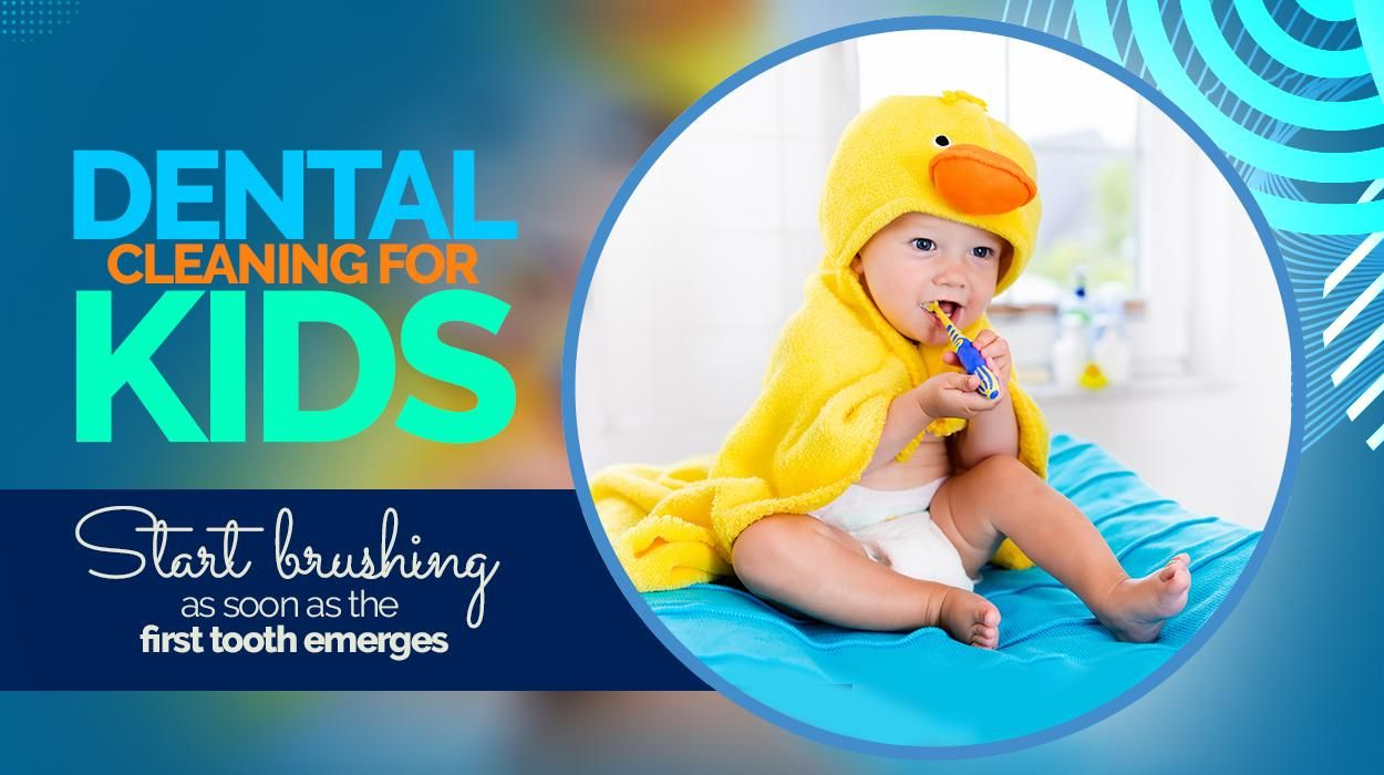 Starting your child with good oral hygiene habits from a