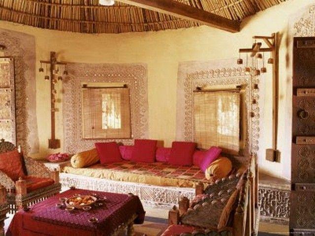 Haveli Inspired Living Rooms Indian Interior Design