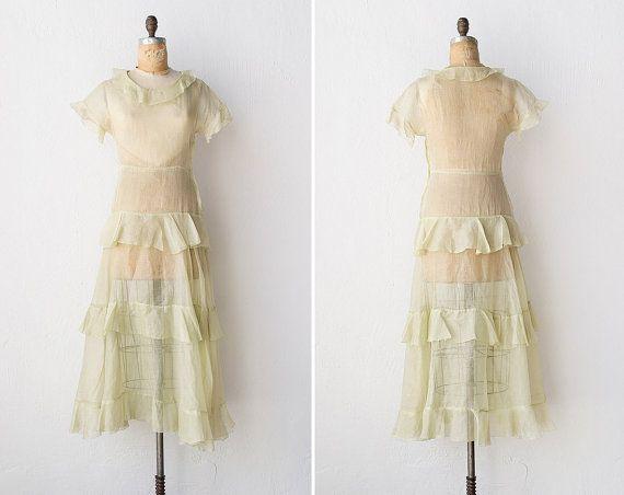 1930s Dresses Vintage Garden Party
