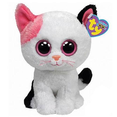Ty Beanie Boo s Baby Kitten Kitty Cat
