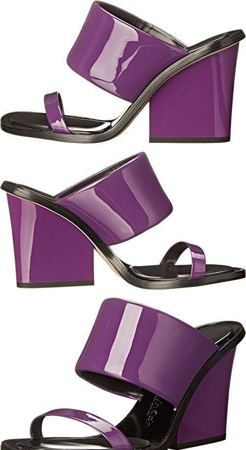 Womens Sandals Calvin Klein Collection Cody Grape