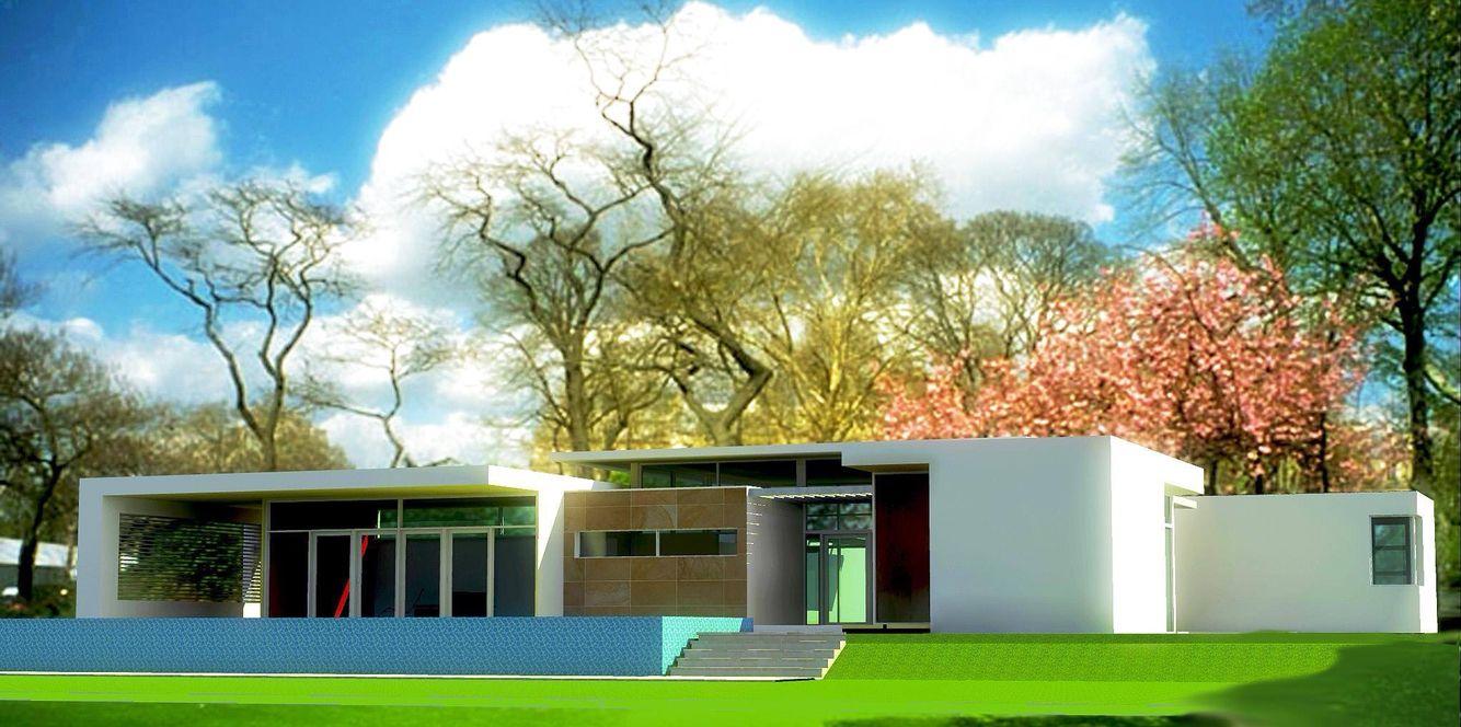 Modern House Design Development Miami Architecture | Omelio ...