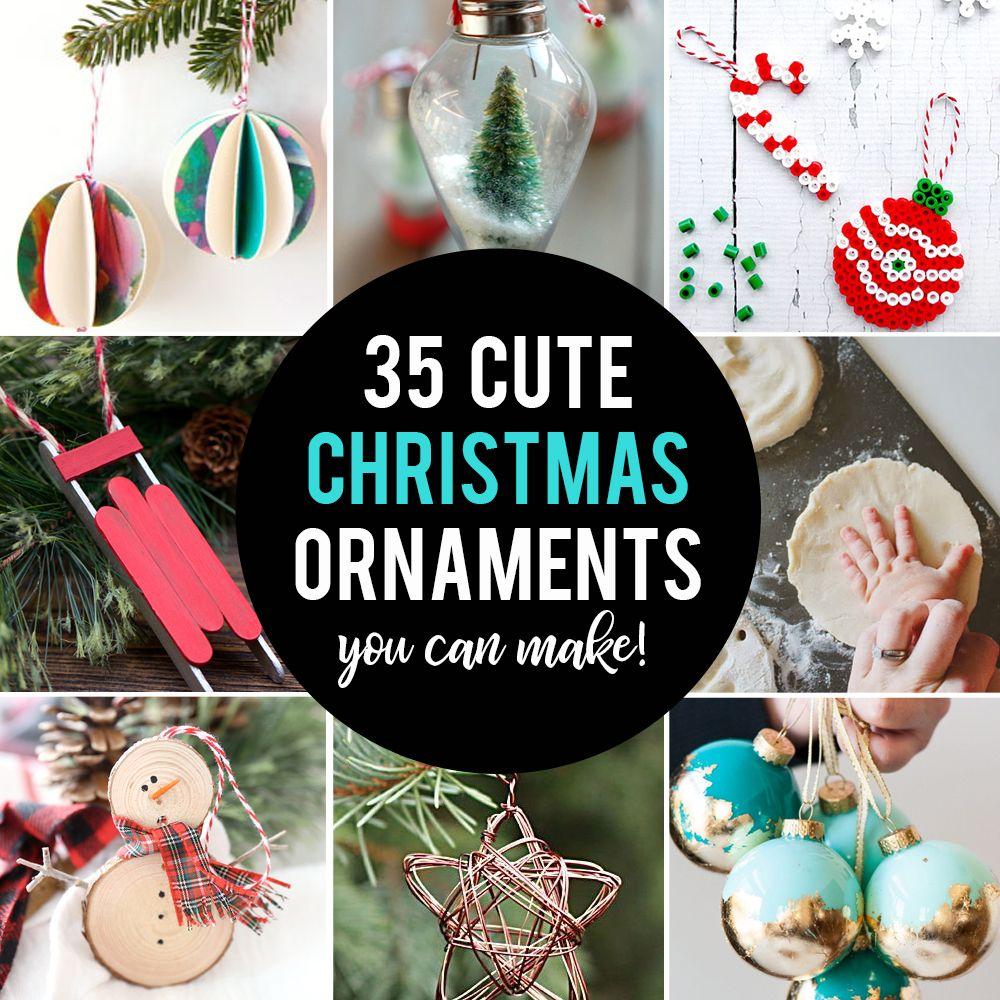 35 Beautiful Diy Handmade Christmas Ornaments It S Always Autumn Diy Christmas Ornaments Easy Diy Christmas Ornaments Handmade Christmas Ornaments
