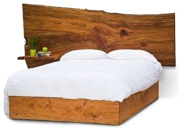 Michael Slab Bed Contemporary Beds St Louis David Stine