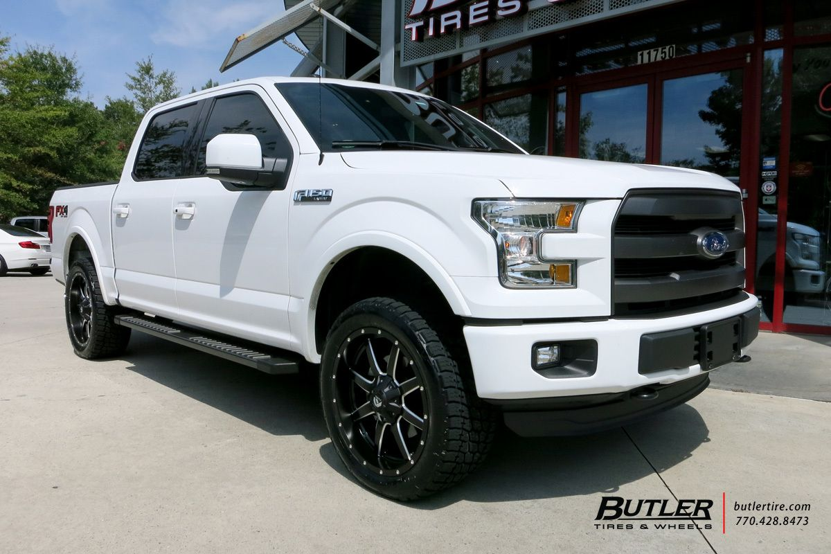 Ford F150 With 22in Fuel Maverick Wheels Ford F150 F150 Ford