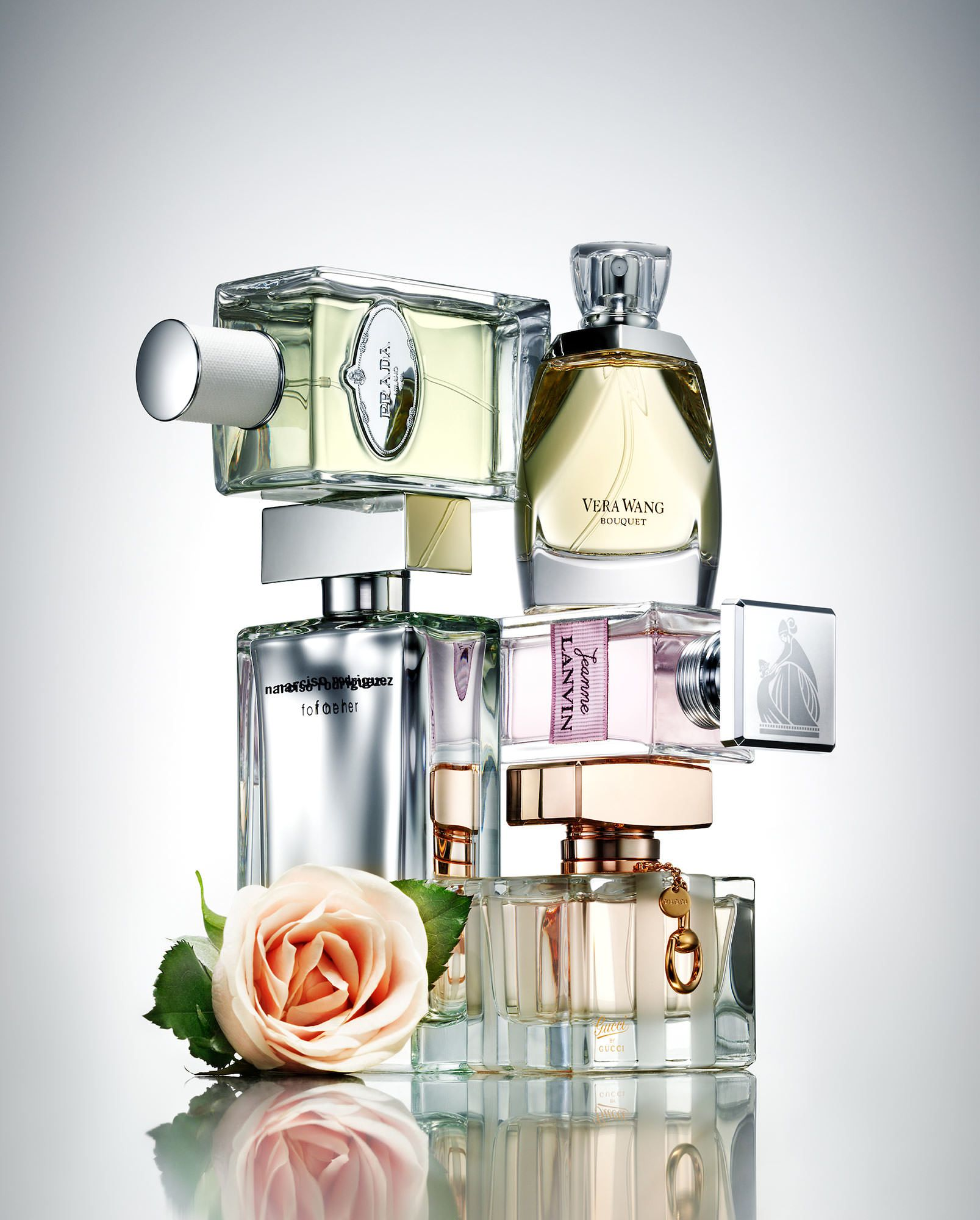 Fragrance Composition Scent Flowers Still Life Photography