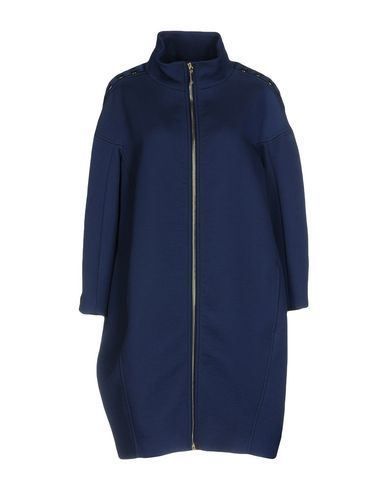 ELISABETTA FRANCHI Women's Coat Dark blue 10 US
