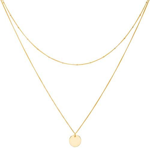 18 inch Solid 14k Yellow Gold Thin Rope Chain Necklace 0.7mm