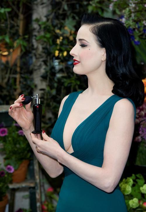 b21cecff1211 Dita Von Teese launches her debut signature fragance  Dita Von Teese  eau  de parfum at Liberty in London