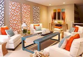 decoracion de interiores naranja y turquesa - Buscar con Google