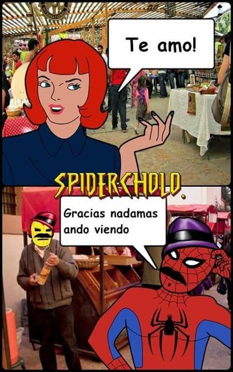 30f60c65bb92770fe0c23c75f740476b gracias andamos viendo spidercholo!!! pinterest memes, meme