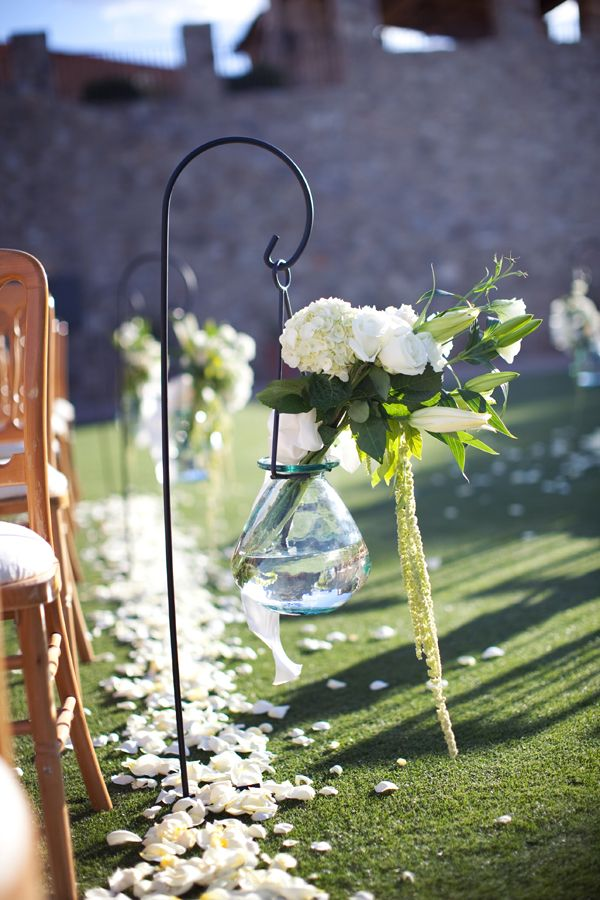 Shepherd Hook Wedding Aisle Decor | Pinterest | Shepherds hook ...