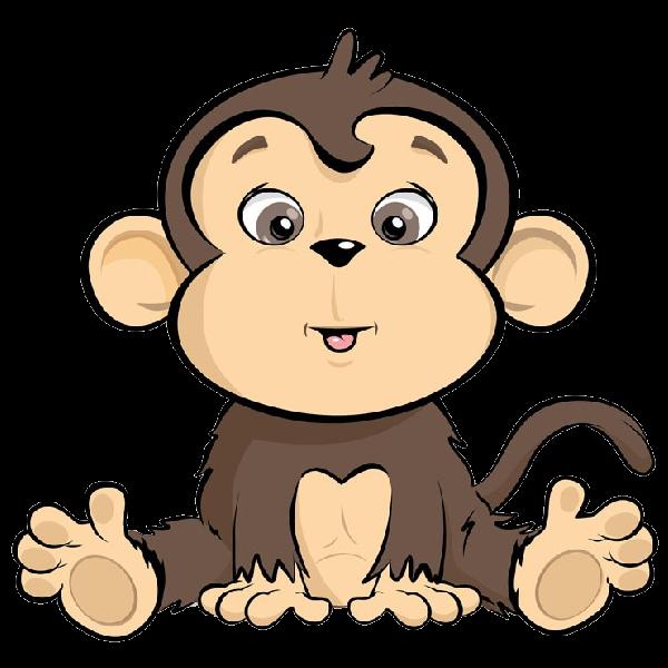 Brown Gorilla Pictures Monkeys Cartoon Clip Art Cartoon Monkey Monkey Art Cartoon Clip Art
