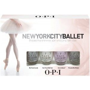 OPI New York City Ballet Petites  New York City Ballet Petites Collection £12.95