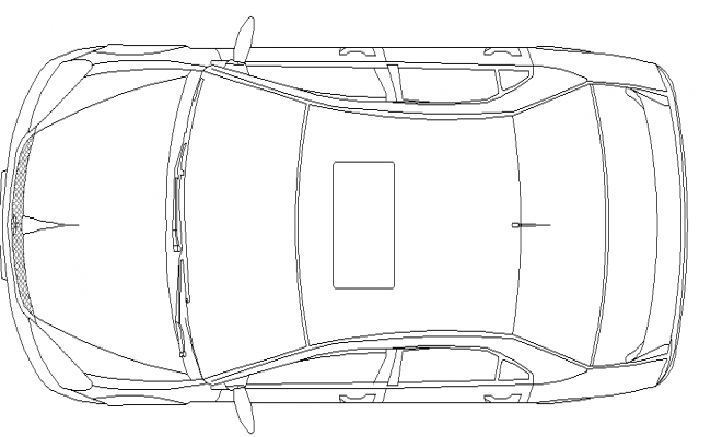 Top View Detail Of Car Top View Car Views