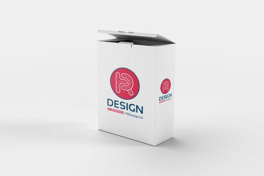 Download Free Realistic Box Psd Mockup Free Design Resources Caixa De Papel Embalagens Free