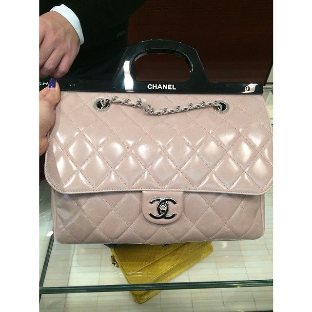 61adbed7ef05 Chanel Beige CC Delivery Tote Bag - Fall 2014 | It's CHANel in 2019 ...