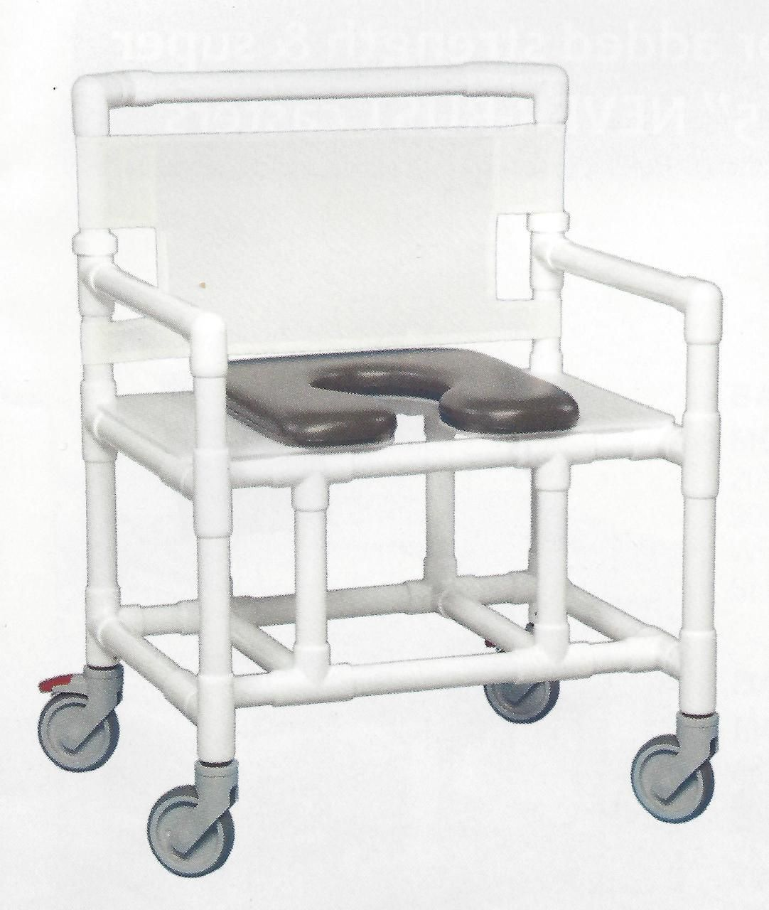 shower commode chair with wheels
