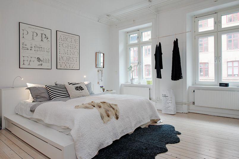 Jasna Sypialnia Sypialnia Styl Nowoczesny Aranzacja I Wystroj Wnetrz Home Discount Bedroom Furniture Bedroom Inspirations