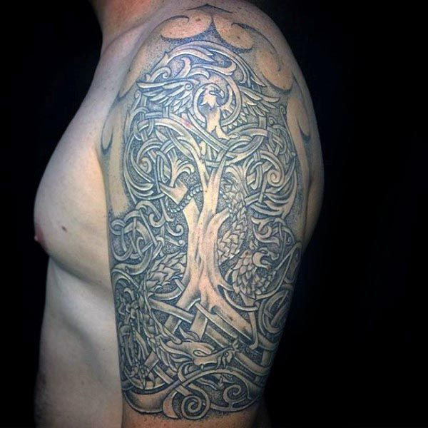 100 Tree Of Life Tattoo Designs For Men Manly Ink Ideas Tattoo S