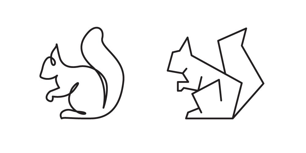 Bildergebnis Fur Geometric Squirrel