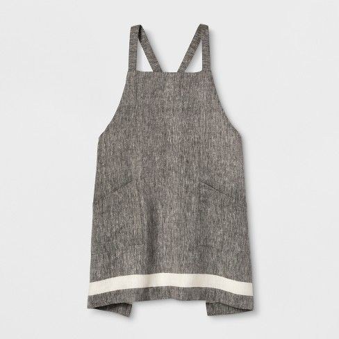 Linen Apron Gray Smith Hawken In 2019 P R O D U C T S
