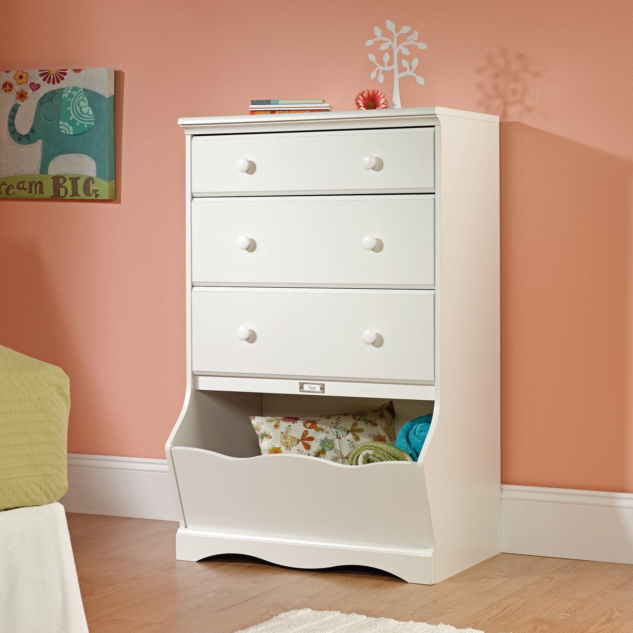 Sauder Pogo 3drawer Chest Soft White Finish See This Great Product It Is Amazon Affiliate Link Kids Bedroom Furniture White Bedroom Furniture White Dresser