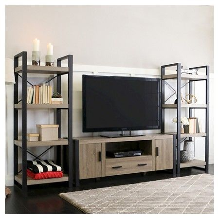 60 Modern Mixed Material Tv Stand Saracina Home Home