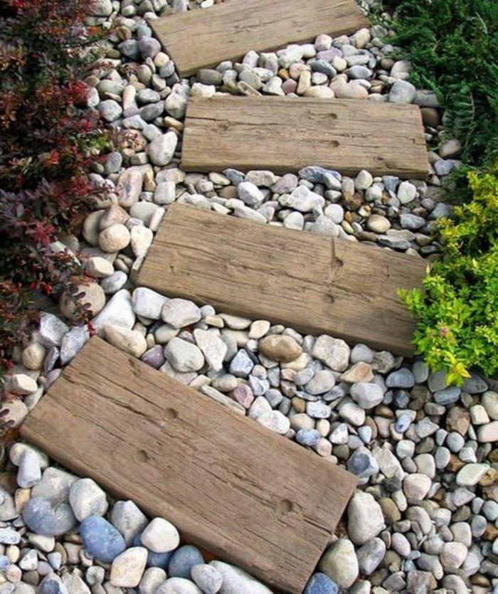 Nos propositions en vid os pour faire une all e de jardin maison pinterest - Faire une allee de jardin ...