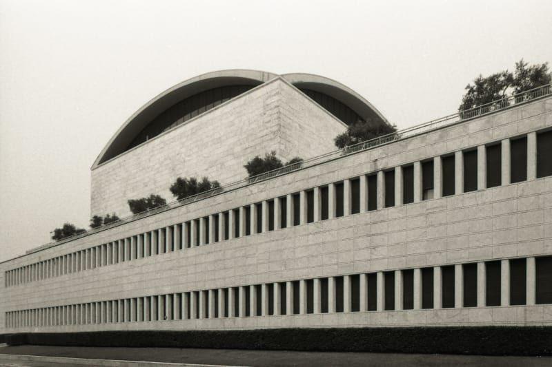 Adalberto libera lorenzo zandri za palazzo dei - Architetto palazzo congressi roma ...