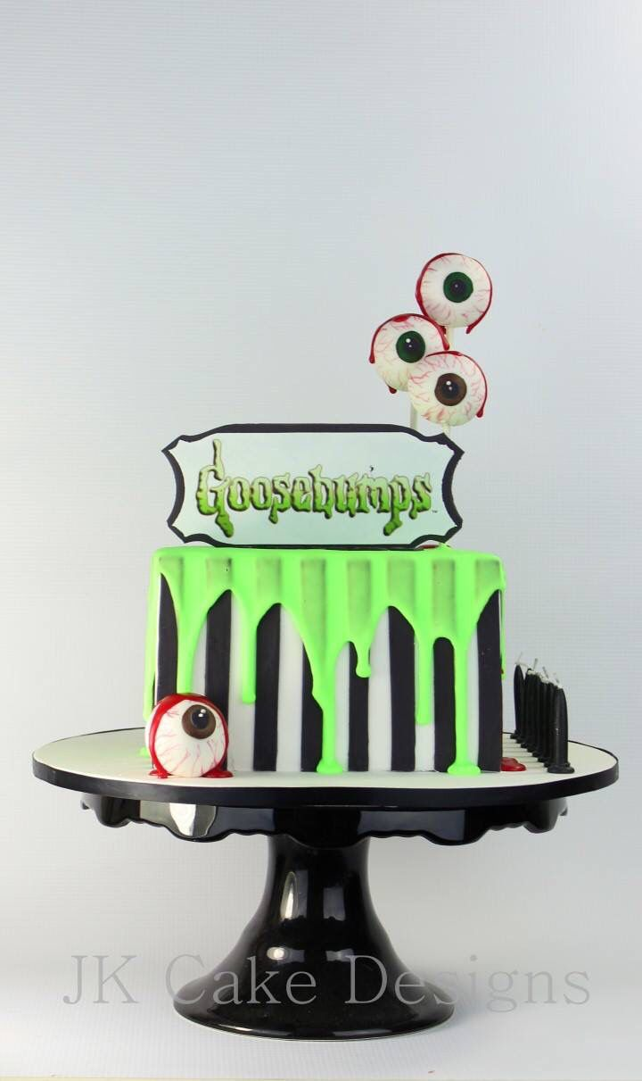 Goosebumps Theme Party Cake Halloween CakesHalloween AppetizersHalloween Birthday