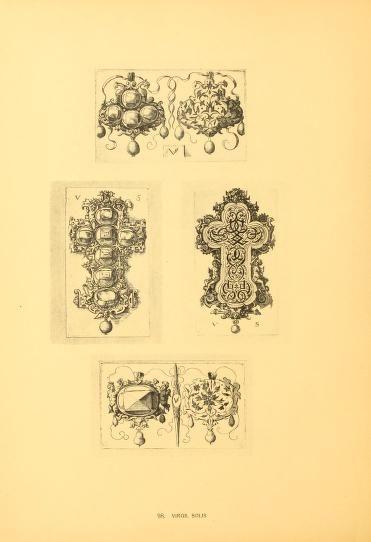 1900  (LINK=>DOWNLOAD IMAGE AND FREE DOWNLOAD FULL BOOK; PUBLIC DOMAIN)Meister des ornamentstichs, eine auswahl aus vi...