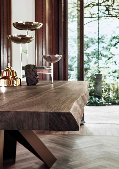 Bonaldo Big Table, Live Edge | Furniture | Pinterest | Consoles ...