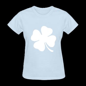 Clover Women's T-Shirt, Shamrock Graphic Tee, St Patricks Day